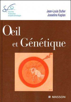 Oeil et génétique - elsevier / masson - 9782294019685 -