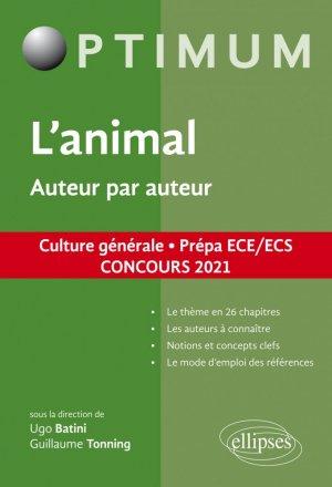 Oeuvre. Auteur par auteur. Culture générale, prépa ECE/ECS, concours 2021 - Ellipses - 9782340038912 -