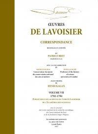 Oeuvres de Lavoisier Tome 7 - hermann - 9782705682880 -
