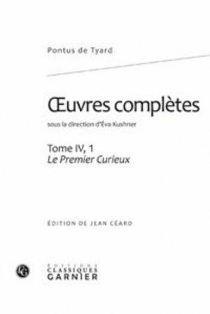 Oeuvres complètes - Editions Classiques Garnier - 9782812401664 -