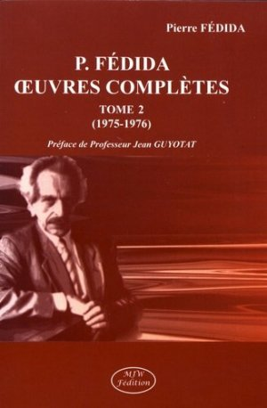 Oeuvres complètes. Tome 2 (1975-1976) - mjw  - 9791090590762 -
