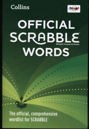 OFFICIAL SCRABBLE WORDS  - HARPERCOLLINS - 9780007589081 -
