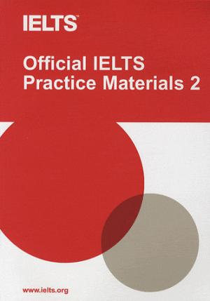 Official IELTS Practice Materials 2 with DVD - cambridge - 9781906438876 -