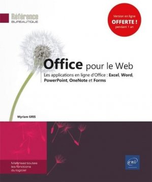 Office pour le Web - eni - 9782409025907 -
