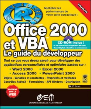 Office 2000 et VBA - osman eyrolles multimedia - 9782746400696 -