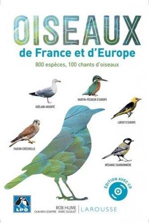Oiseaux de France et d'Europe - larousse - 9782035983886 -