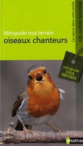 Oiseaux chanteurs - nathan - 9782092785997 -