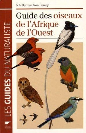 Oiseaux de l'afrique de l'ouest - delachaux et niestle - 9782603017449 -