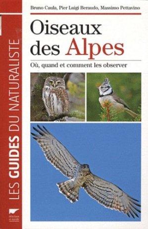 Oiseaux des Alpes - delachaux et niestle - 9782603017609 -