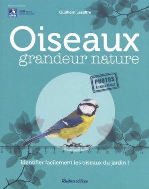 Oiseaux grandeur nature - rustica - 9782815315562 -