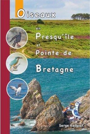 Oiseaux de la presqu'ile de Crozon et de la pointe Bretagne - Serge Kergoat artiste numérique - 9782919359233 -