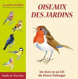 Oiseaux des jardins - Studio des Trois becs - 9782953709209 -
