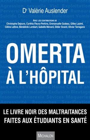 Omerta à l'hôpital - michalon - 9782841868582 -