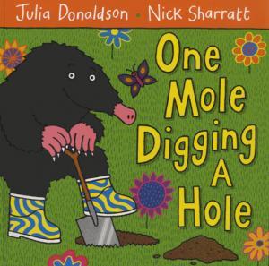 One Mole Digging A Hole - macmillan - 9780230706477 -
