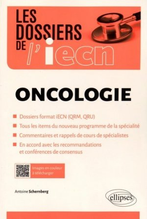 Oncologie - ellipses - 9782340008182 -