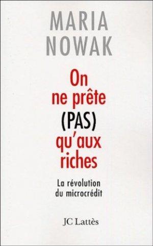 On ne prête pas qu'aux riches - Jean-Claude Lattès - 9782709626385 -