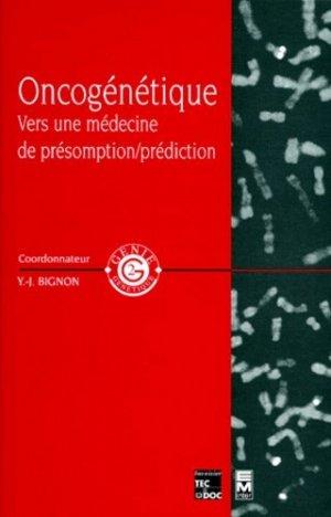 Oncogénétique - tec et doc / em inter - 9782743001902 -