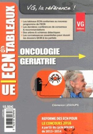 Oncologie Gériatrie - vernazobres grego - 9782818309896 -