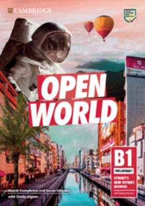 Open World Preliminary Student's Book without Answers with Online Practice - cambridge - 9781108565325 -