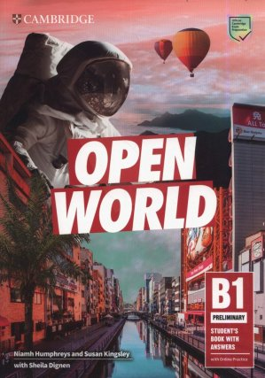 Open World Preliminary Student's Book with Answers with Online Practice - cambridge - 9781108759199 -