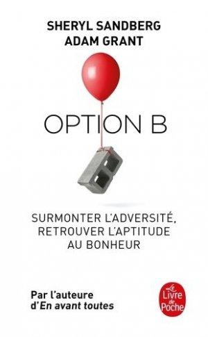 Option B - le livre de poche - lgf librairie generale francaise - 9782253091561 -