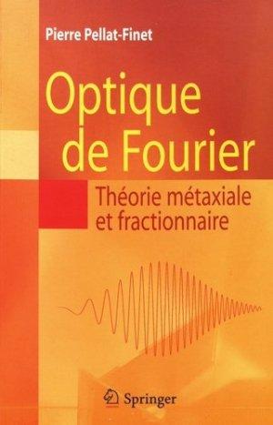 Optique de Fourier - springer verlag - 9782287991677 -