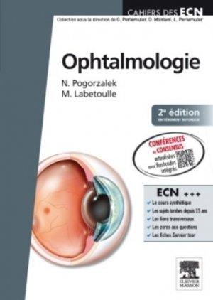 Ophtalmologie - elsevier / masson - 9782294096402 -