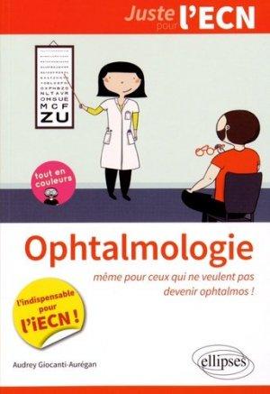 Ophtalmologie - ellipses - 9782340000728 -