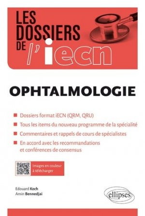 Ophthalmologie - ellipses - 9782340027886 -