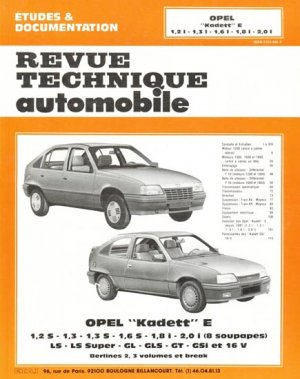 opel 39 39 kadett 39 39 e collectif 9782726846131 etai revue. Black Bedroom Furniture Sets. Home Design Ideas