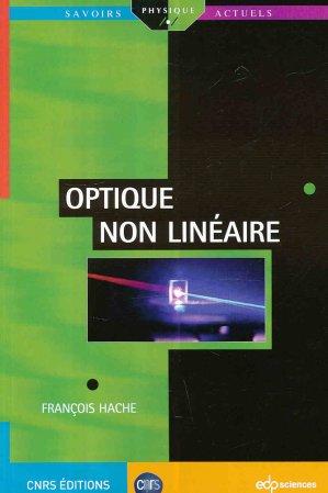 Optique non linéaire - edp sciences - 9782759818402 -