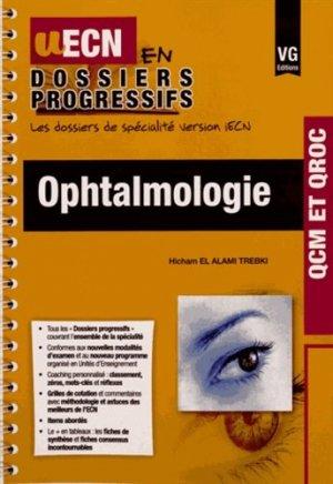 Ophtalmologie - vernazobres grego - 9782818312711 -