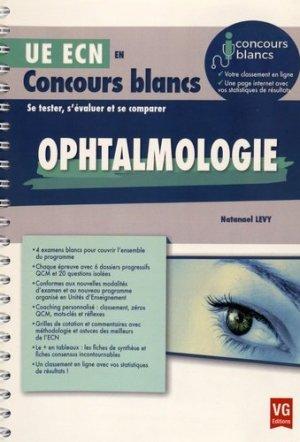 Ophtalmologie - vernazobres grego - 9782818314616 -