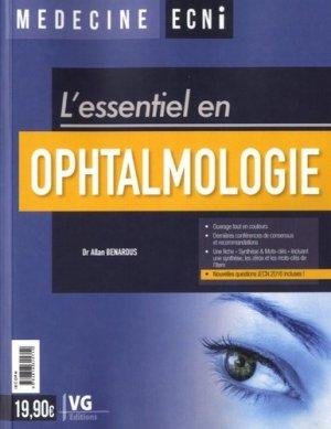 Ophtalmologie - vernazobres grego - 9782818315712