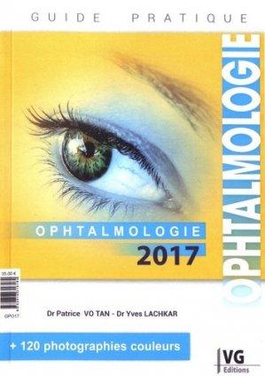 Ophtalmologie 2017 - vernazobres grego - 9782818316184 -