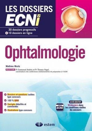 Ophtalmologie - estem - 9782843718052