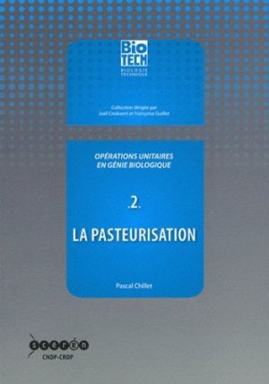 Opérations unitaires en génie biologique - Tome 2 - crdp d'aquitaine - 9782866175955 -
