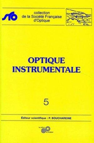 Optique instrumentale - EDP Sciences - 9782868832825 -