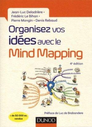 Organisez vos idées avec le mind mapping - dunod - 9782100779369 -