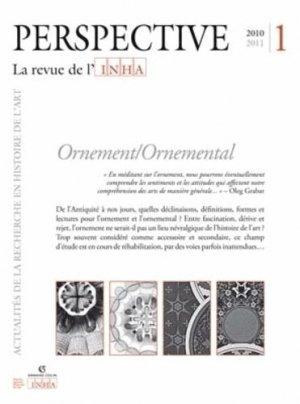 Ornement/Ornemental - armand colin - 9782200926540 -