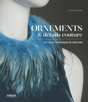 Ornements et details couture - eyrolles - 9782212673739 -