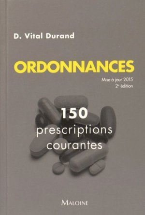 Ordonnances - maloine - 9782224034429 -