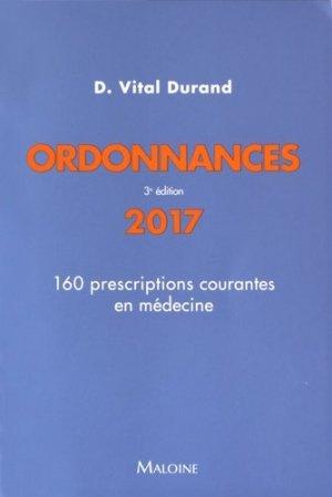 Ordonnances - maloine - 9782224034757 -