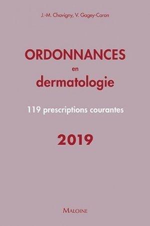 Ordonnances en dermatologie - maloine - 9782224035594 -