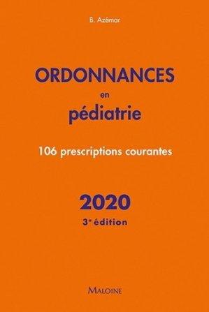 Ordonnances en pédiatrie – 2020 - maloine - 9782224036126 -
