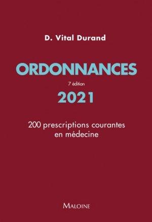 Ordonnances 2021 - maloine - 9782224036157 -