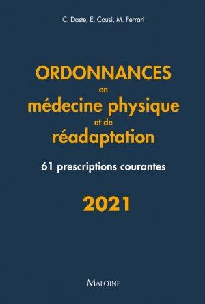 Ordonnances de médecine physique et réadaptation - maloine - 9782224036270 -