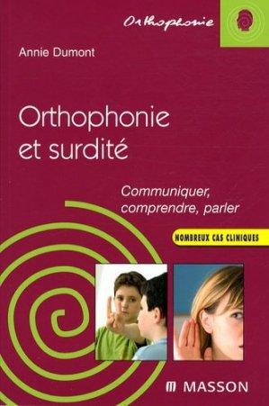Orthophonie et surdité - elsevier / masson - 9782294702716 -