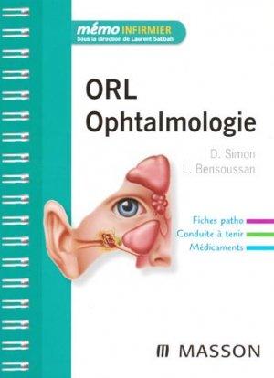 ORL Ophtalmologie - elsevier / masson - 9782294705748 -