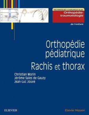 Orthopédie pédiatrique - elsevier / masson - 9782294747175 -